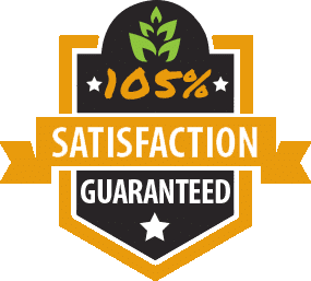 Icon of 105 Percent Satisfaction Guarantee Badge